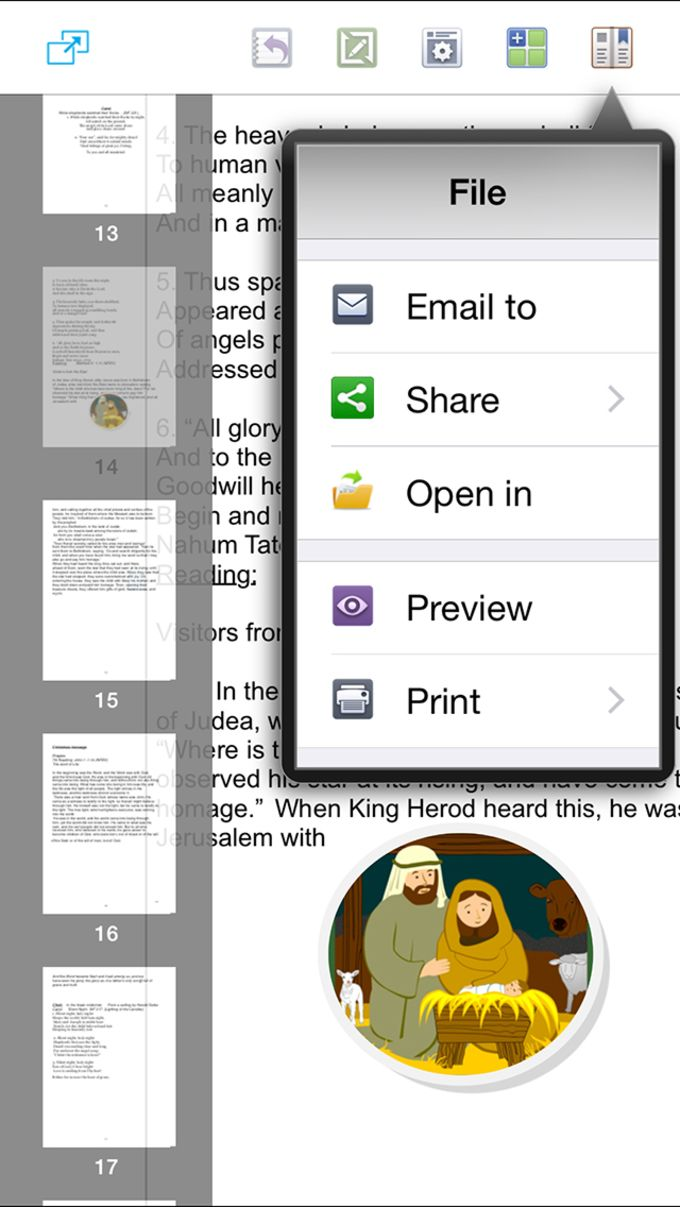 PUB Viewer for iPhone - Microsoft Publisher Edition