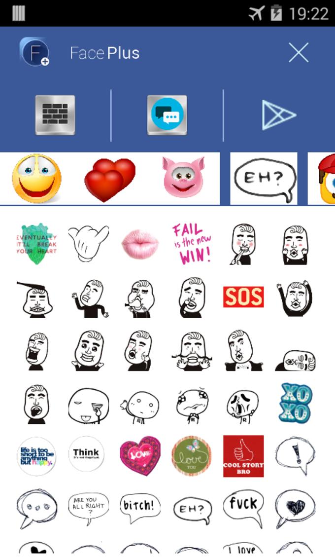 Face Plus Emoticonos