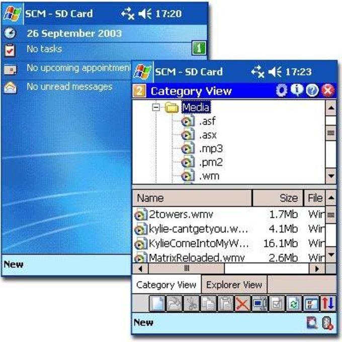 Serrabona Storage Card Manager
