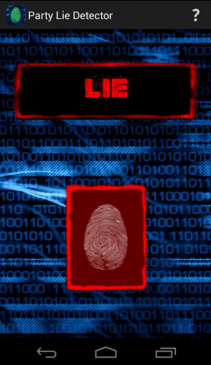 Détecteur de Mensonges