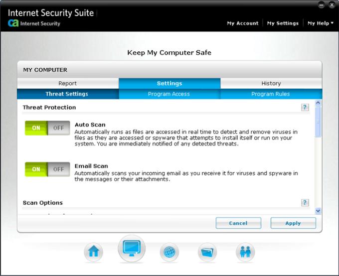 CA Internet Security Suite Plus