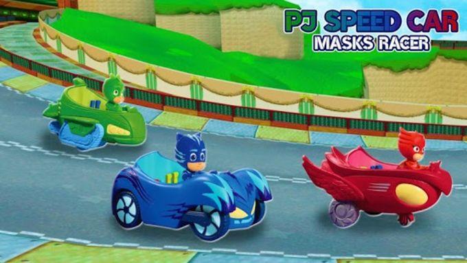 Pj Speed Car Masks Racer
