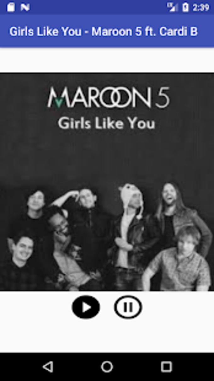 Girls Like You  Maroon 5 ft Cardi B