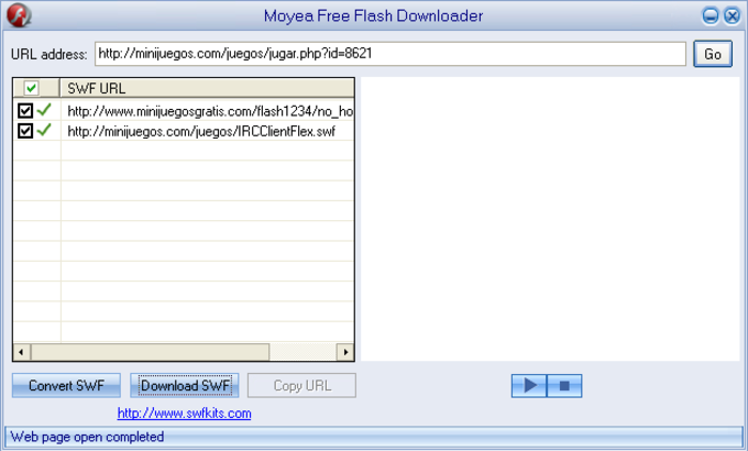 Moyea Free Flash Downloader