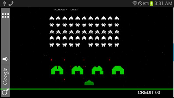 Space Invasion Live Wallpaper