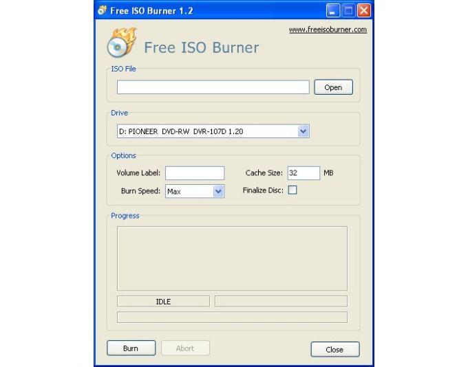Free ISO Burner