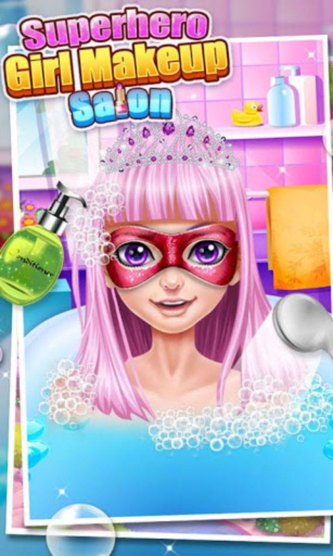 Superhero Make-Up Spa