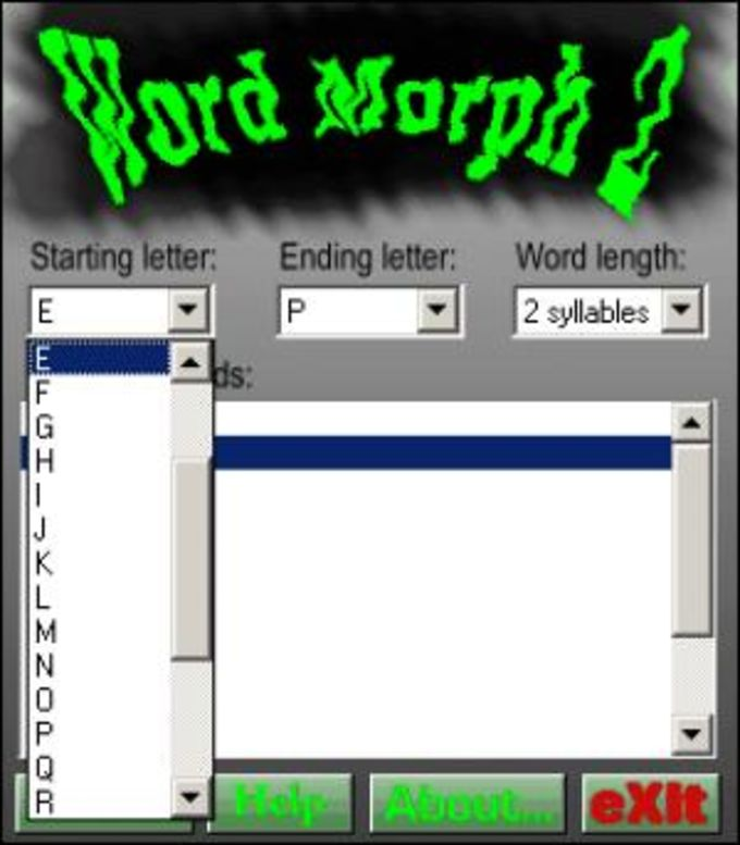 Word Morph