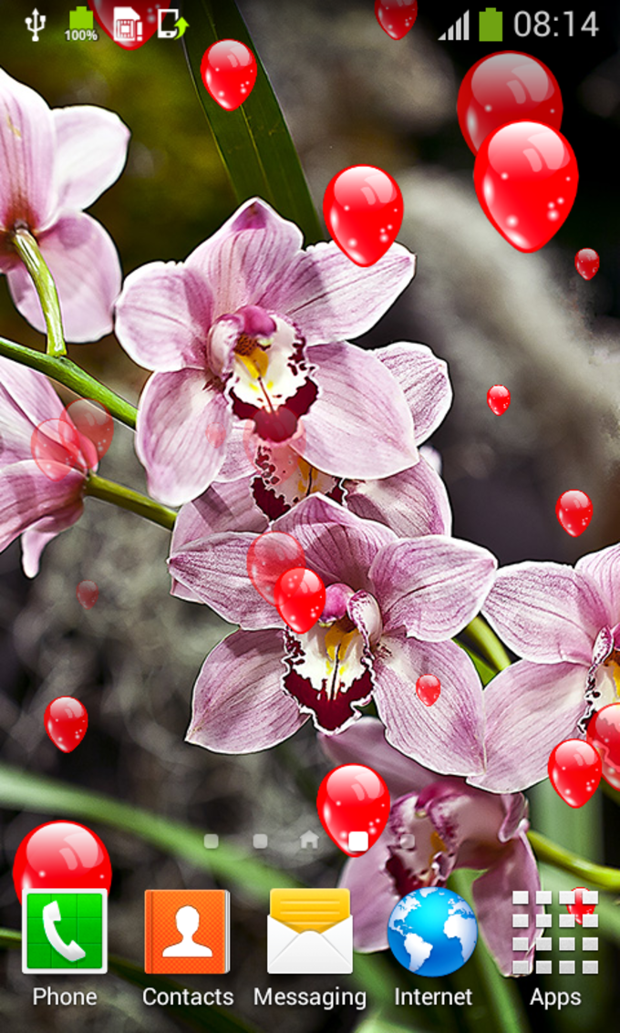 Orchid Live Wallpapers
