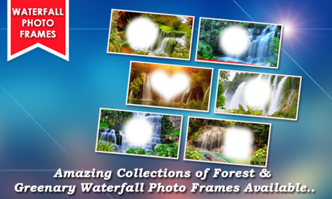 Waterfall Photo Frames New