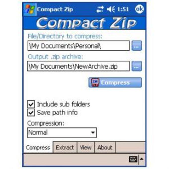Compact ZIP
