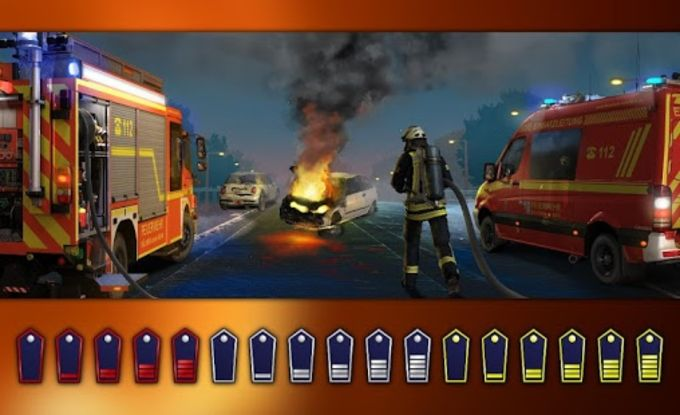 Emergency Call  The Fire Fighting Simulation
