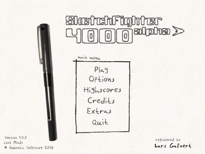 SketchFighter 4000 Alpha
