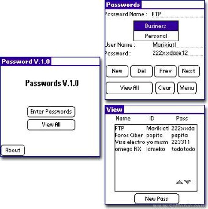 GBS Passwords