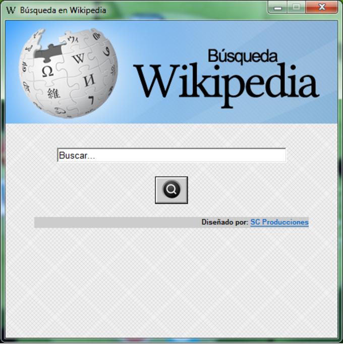 Búsqueda en Wikipedia
