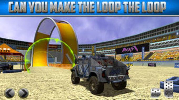 3D Monster Truck Parking Simulator