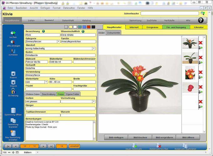GS Pflanzen-Verwaltung