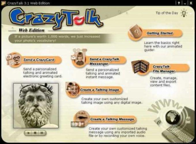 CrazyTalk Web Edition