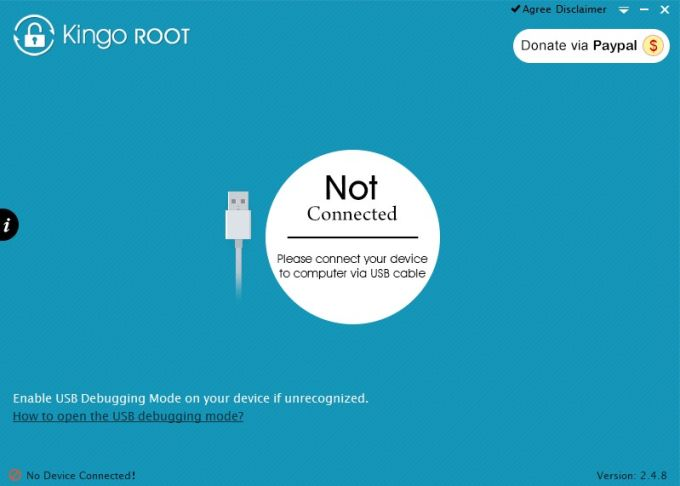 Kingroot for pc root android in one click using pc kingroot apk.