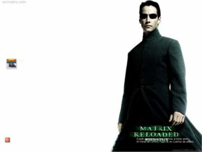 Matrix Neo Logon Screen