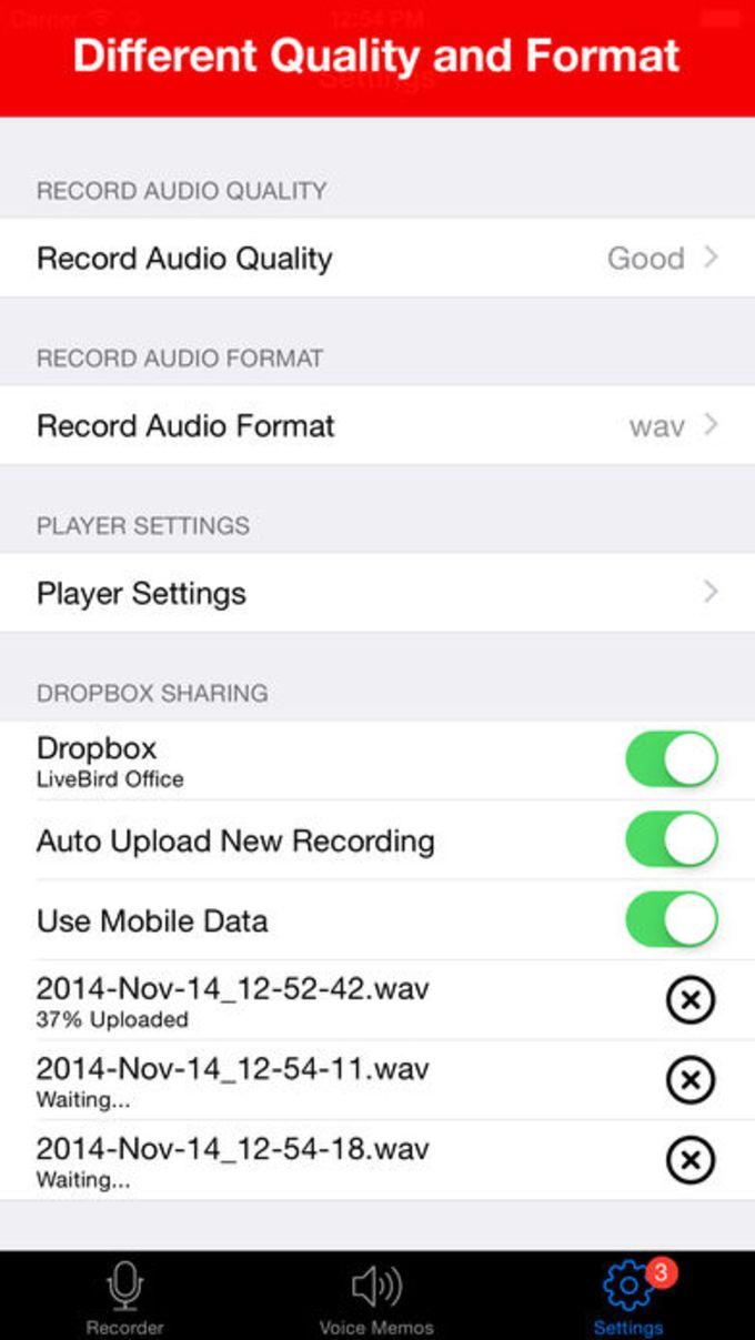Voice Recorder - HD Audio Recording & Playback