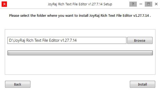 JoyRaj Rich Text File Editor v1.27.7.14
