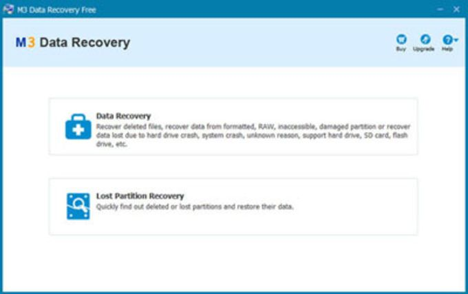 M3 Free Data Recovery