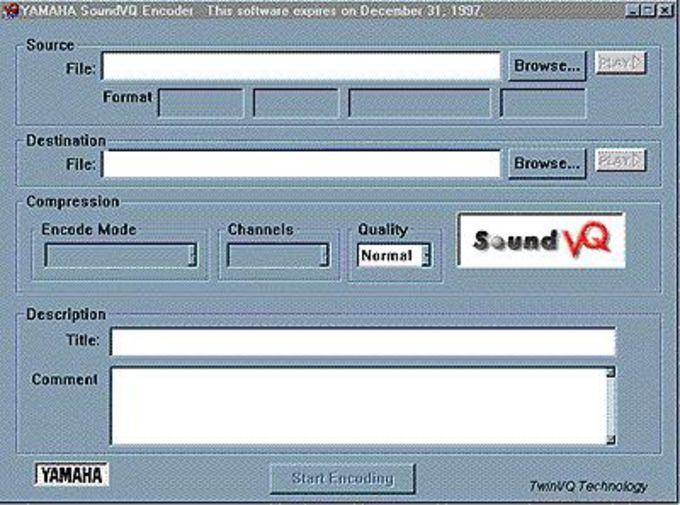 SoundVQ Encoder