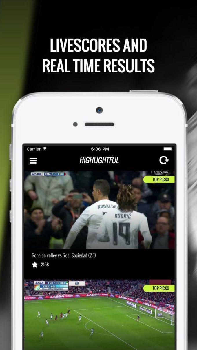 Highlightful - Freshly Picked Soccer Videos