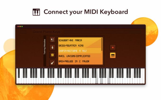Grand Piano Keys 5K - Learn To Play