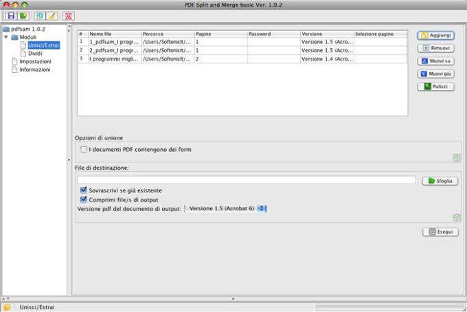 PDF Split and Merge