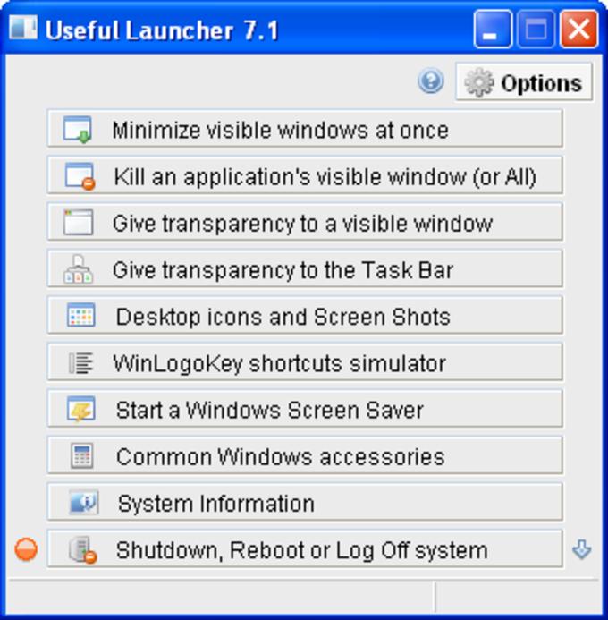 Useful Launcher