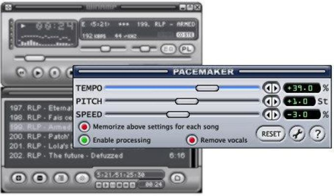 PaceMaker plug-in