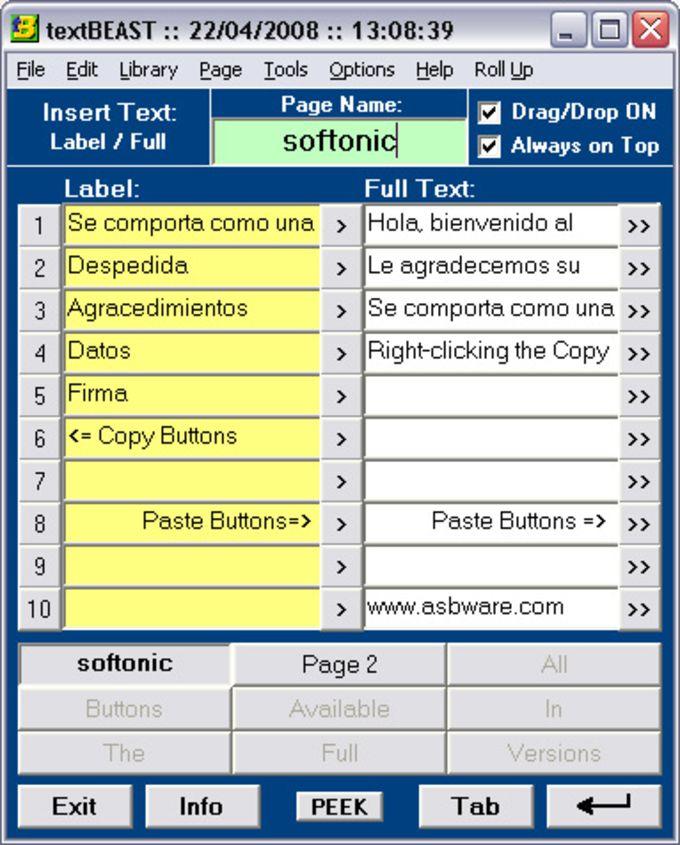 textBEAST