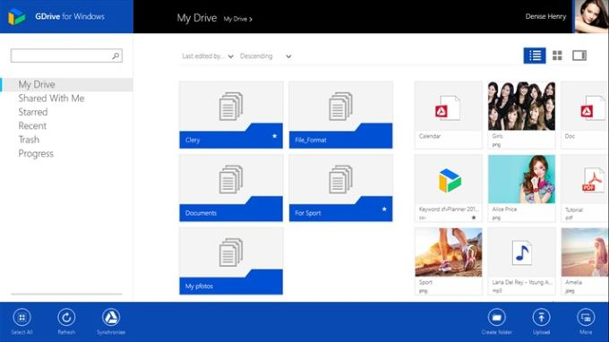GDrive for Windows