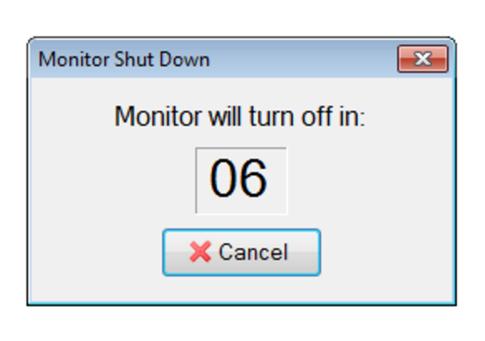 Monitor Off Utility