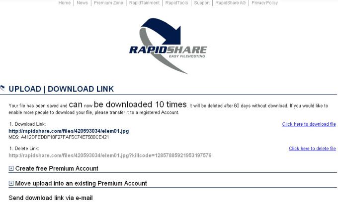 How To Download Multiple Files From Rapidshare Instantly
