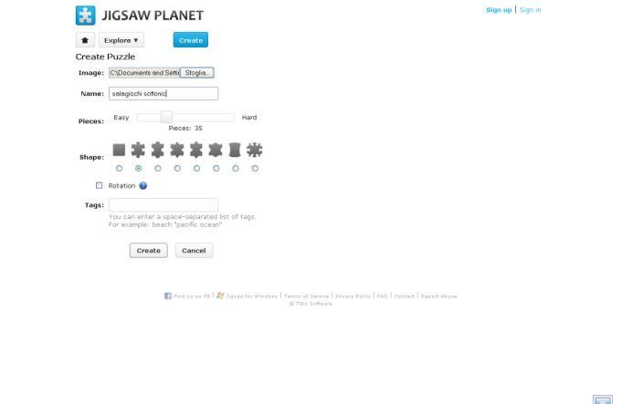 Jigsaw Planet