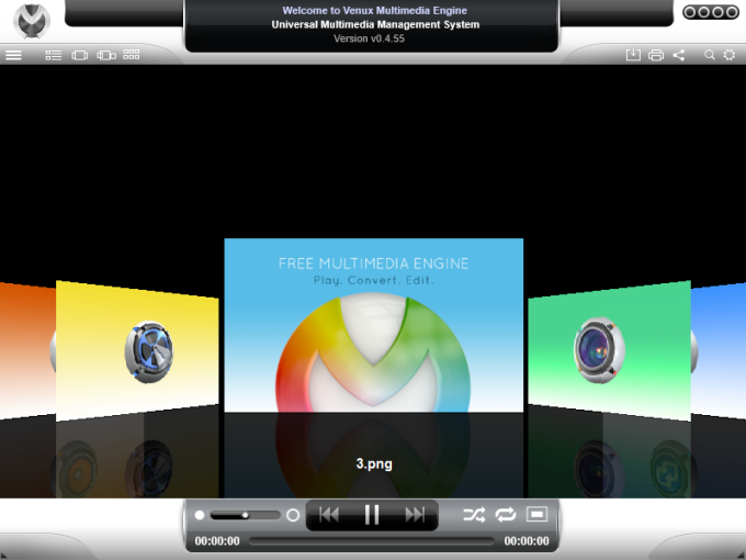 Venux Multimedia Engine