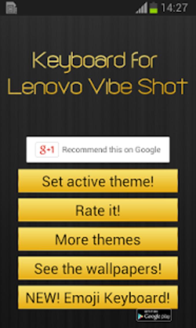 Teclado para Shot Lenovo Vibe