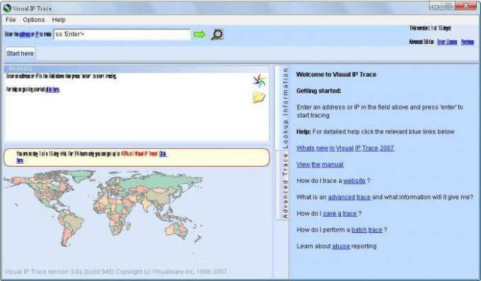 Visual IP Trace 2007