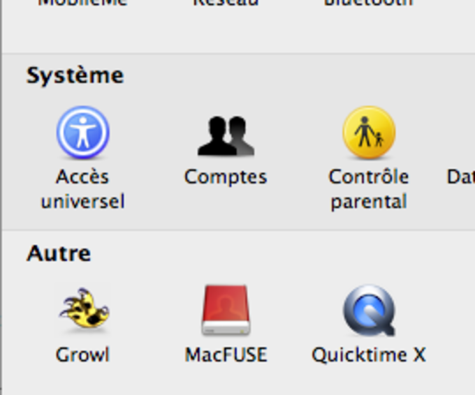 QuickTime X Preferences