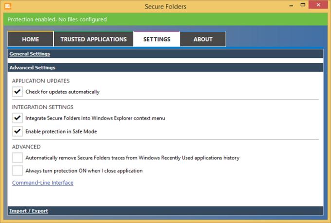 Secure Folders Free