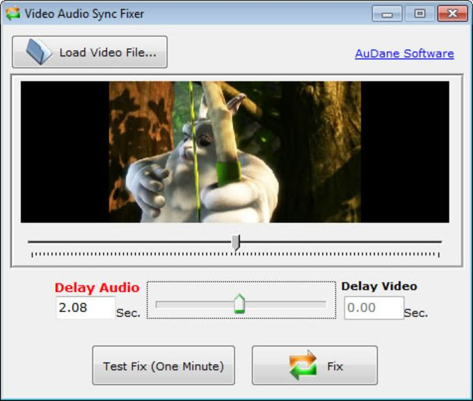 Video Audio Sync Fixer
