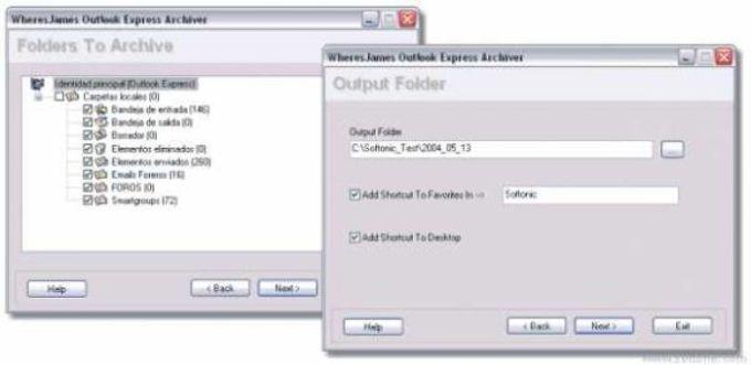 WheresJames Outlook Express Archiver