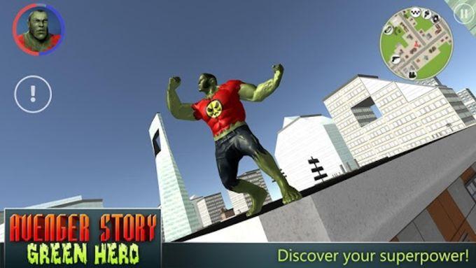 Avenger Story: Green Hero