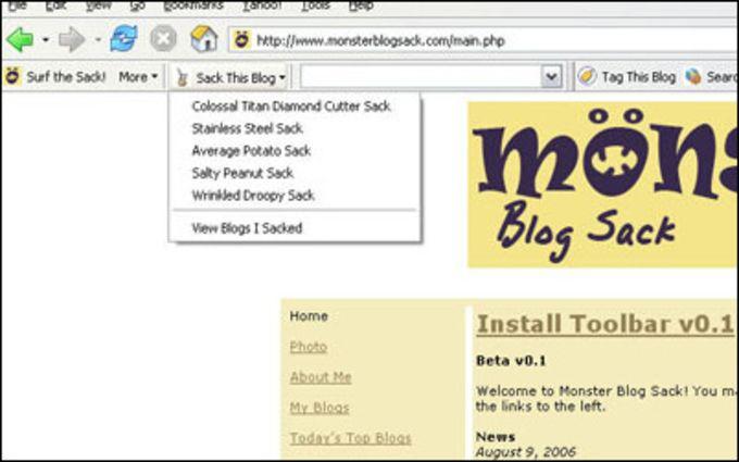 Monster Blog Sack