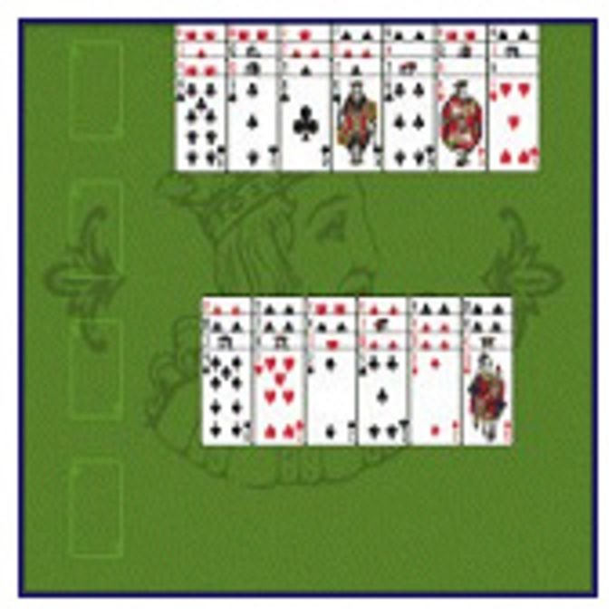 Lucky Piles Solitaire