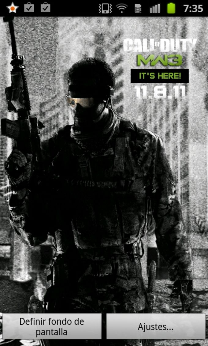 MW3 Live Wallpaper