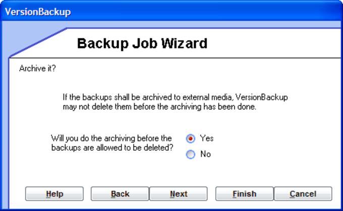 VersionBackup